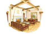 Mediterranean Style House Plan - 3 Beds 3.5 Baths 3576 Sq/Ft Plan #429-36 Photo