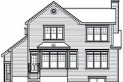 Farmhouse Style House Plan - 2 Beds 2 Baths 1978 Sq/Ft Plan #23-722 Exterior - Rear Elevation