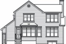 Dream House Plan - Farmhouse Exterior - Rear Elevation Plan #23-722