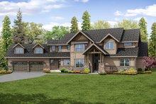 Craftsman Exterior - Front Elevation Plan #124-1032