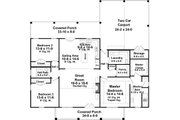 Country Style House Plan - 3 Beds 2 Baths 3027 Sq/Ft Plan #21-449 Floor Plan - Main Floor Plan