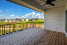 Ranch Exterior - Covered Porch Plan #70-1477