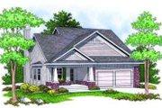 Craftsman Style House Plan - 2 Beds 2 Baths 1346 Sq/Ft Plan #70-674
