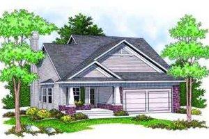 Craftsman Exterior - Front Elevation Plan #70-674