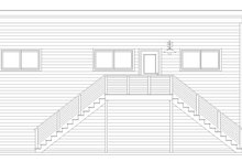 Dream House Plan - Contemporary Exterior - Other Elevation Plan #932-71