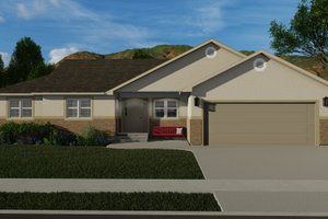 Home Plan - Traditional Exterior - Front Elevation Plan #1060-58