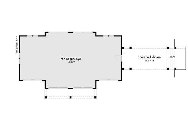 Farmhouse Floor Plan - Other Floor Plan Plan #64-248