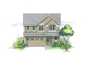 Craftsman Exterior - Front Elevation Plan #53-479
