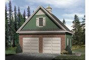 Country Style House Plan - 0 Beds 0 Baths 720 Sq/Ft Plan #22-428 Exterior - Front Elevation