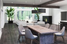 Contemporary Interior - Dining Room Plan #1066-27