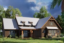 House Design - Craftsman Exterior - Other Elevation Plan #923-165
