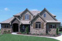Traditional Exterior - Front Elevation Plan #20-2126