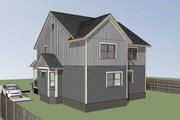 Southern Style House Plan - 3 Beds 2 Baths 2558 Sq/Ft Plan #79-242 Exterior - Rear Elevation
