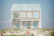 Colonial Style House Plan - 3 Beds 2.5 Baths 2112 Sq/Ft Plan #497-19 Exterior - Outdoor Living
