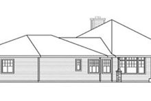 Home Plan - Craftsman Exterior - Other Elevation Plan #124-731