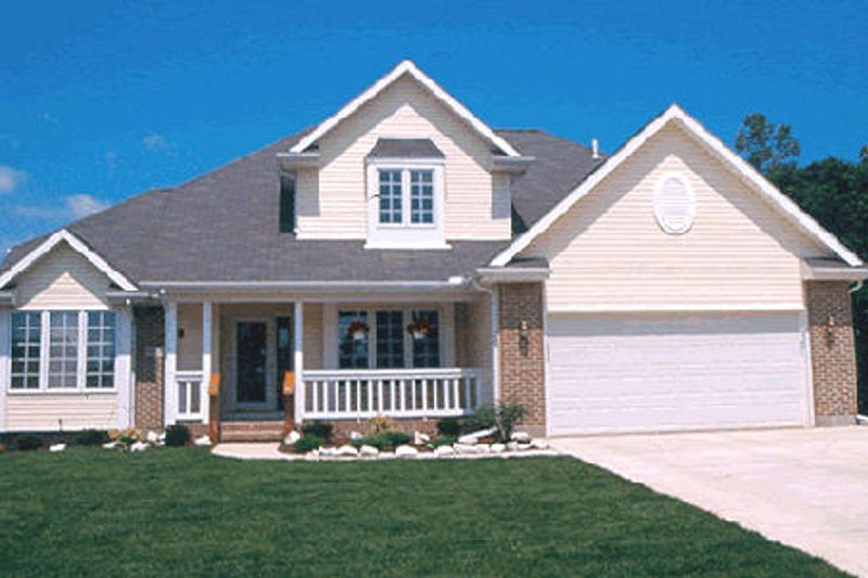 Traditional Exterior - Other Elevation Plan #20-665 - Houseplans.com