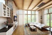 Modern Style House Plan - 2 Beds 2 Baths 1439 Sq/Ft Plan #509-31 Photo