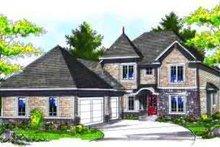 House Design - European Exterior - Front Elevation Plan #70-712