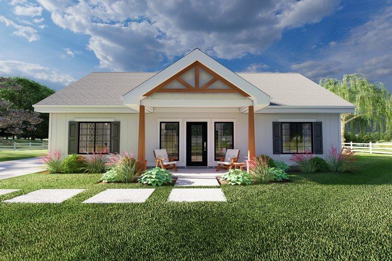 House Plan Design - Farmhouse Exterior - Front Elevation Plan #126-238