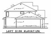 Craftsman Style House Plan - 4 Beds 3.5 Baths 2540 Sq/Ft Plan #20-2328