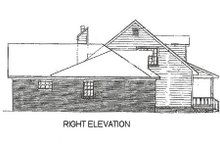 Home Plan - Country Exterior - Other Elevation Plan #14-211