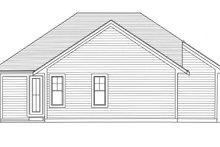 House Plan Design - Craftsman Exterior - Rear Elevation Plan #46-896