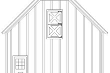 Farmhouse Exterior - Other Elevation Plan #932-133