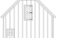 House Plan Design - Farmhouse Exterior - Other Elevation Plan #932-133