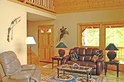 Log Style House Plan - 3 Beds 2 Baths 1601 Sq/Ft Plan #456-3