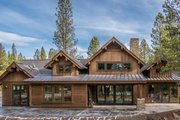 Traditional Style House Plan - 4 Beds 2.5 Baths 3871 Sq/Ft Plan #895-111 Exterior - Outdoor Living