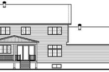 Dream House Plan - Craftsman Exterior - Rear Elevation Plan #23-2724