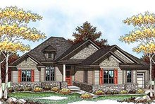 Dream House Plan - Country Exterior - Front Elevation Plan #70-921