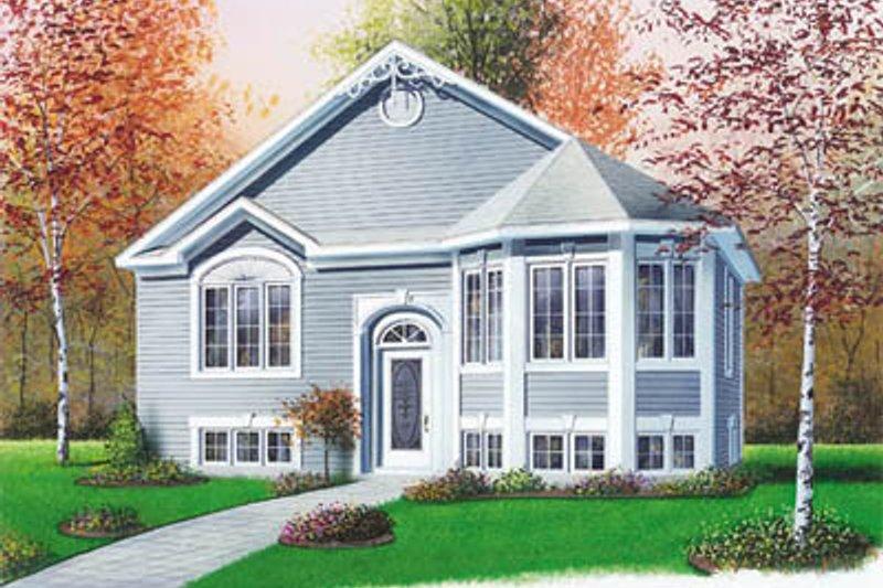 Dream House Plan - Victorian Exterior - Front Elevation Plan #23-308