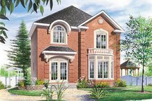 Traditional Exterior - Front Elevation Plan #23-2101