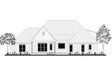 Craftsman Exterior - Rear Elevation Plan #430-170
