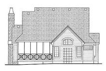 Dream House Plan - European Exterior - Rear Elevation Plan #20-1819