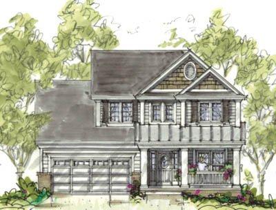 Craftsman Exterior - Front Elevation Plan #20-1220