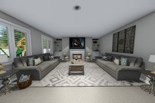 House Plan Design - Living Room