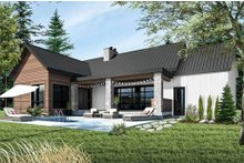 Ranch Exterior - Rear Elevation Plan #23-2637