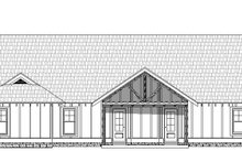 Home Plan - Craftsman Exterior - Rear Elevation Plan #932-275