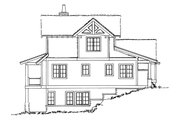 Country Style House Plan - 5 Beds 3.5 Baths 2687 Sq/Ft Plan #942-46 Exterior - Other Elevation