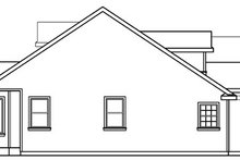 Dream House Plan - Ranch Exterior - Other Elevation Plan #124-543