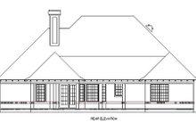 Home Plan - European Exterior - Rear Elevation Plan #45-357