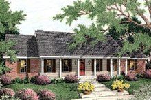 House Design - Farmhouse Exterior - Front Elevation Plan #406-126