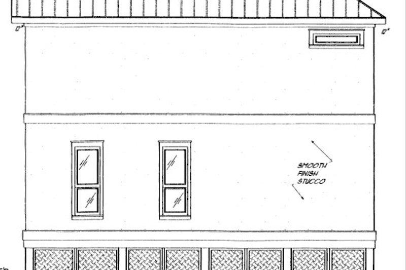 Beach Exterior - Other Elevation Plan #37-151 - Houseplans.com