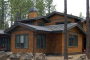 Craftsman Style House Plan - 3 Beds 2.5 Baths 3571 Sq/Ft Plan #434-26 Exterior - Other Elevation