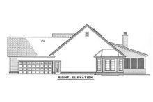Home Plan - Country Exterior - Other Elevation Plan #17-176