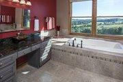 European Style House Plan - 4 Beds 3 Baths 2950 Sq/Ft Plan #929-29 Interior - Master Bathroom
