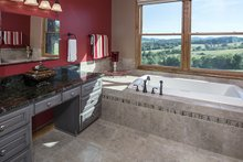 Dream House Plan - European Interior - Master Bathroom Plan #929-29