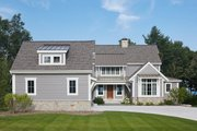 Farmhouse Style House Plan - 3 Beds 3.5 Baths 3799 Sq/Ft Plan #928-14 Exterior - Front Elevation